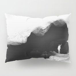 Hello from the The White World Pillow Sham