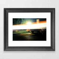 The Flash Framed Art Print