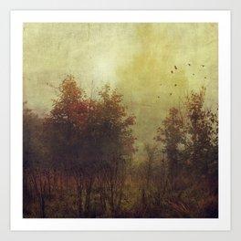 Fall Rust Art Print