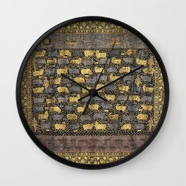Pichhwai for the Festival of Cows in the late 18th century. Wall Clock