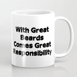 Beard Responsibility Coffee Mug