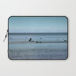 Sea and Gulls Laptop Sleeve