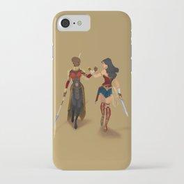 Heroines Unite iPhone Case