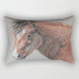 PONY, horse portrait Rectangular Pillow
