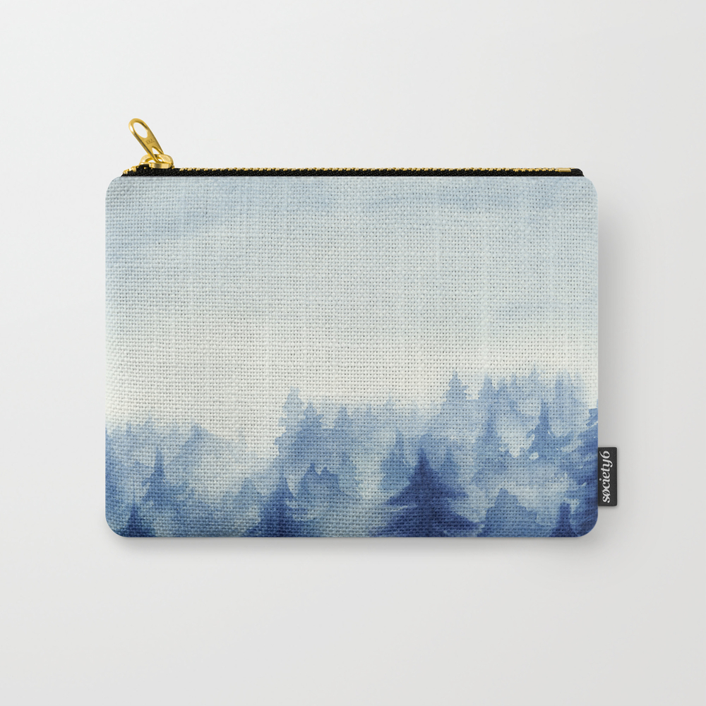 Into The Forest Ii Carry-all Pouch by Marcogonzalez CAP7055230