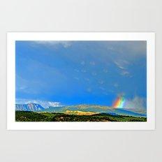 Wild Sky Art Print