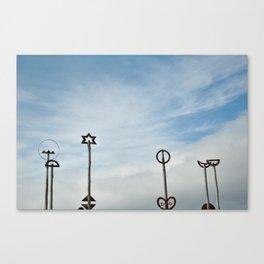 City to Sea Bridge Canvas Print