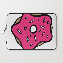 Pink Donut Laptop Sleeve