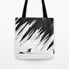 Geometric Storm Tote Bag