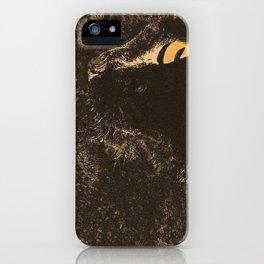 Waiting cat iPhone Case