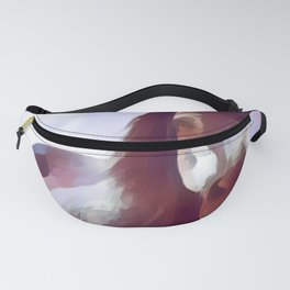 World-wild Cool Animal Portrait Art Print Fanny Pack