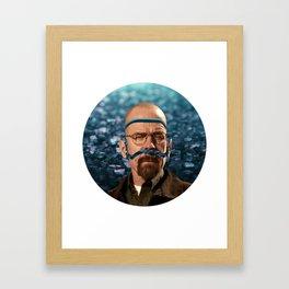 Heisenberg - Walter White Framed Art Print