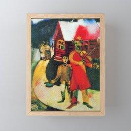 Marc Chagall The Violinist Framed Mini Art Print