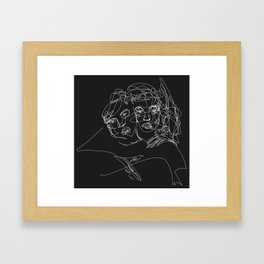 Connection by Sher Rhie Framed Art Print