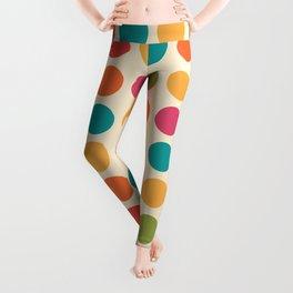 Mid Century Color Dots Leggings