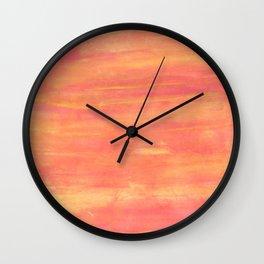 Sunset sky. Wall Clock