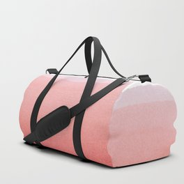 Minimal Pink Abstract 02 Landscape Duffle Bag