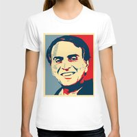 sagan T-shirts featuring Carl Sagan 'Hope' by cvrcak