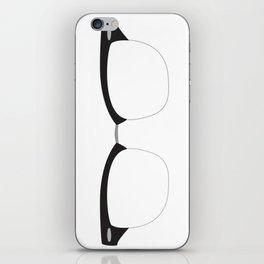 His Glasses iPhone Skin