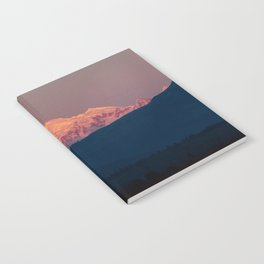 Sunset on Mount Baker Notebook