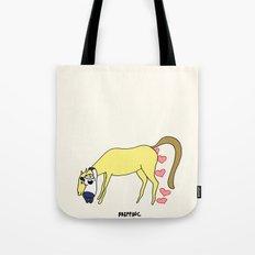 BB&PPINC Horse Hug Tote Bag