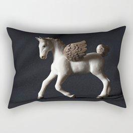Pegasus Lights the Dark Rectangular Pillow