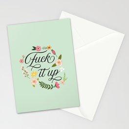 F*$k it up Stationery Cards