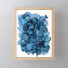 Indigo Abstract Painting | No. 8 Framed Mini Art Print