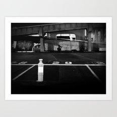 Pending Departure Art Print