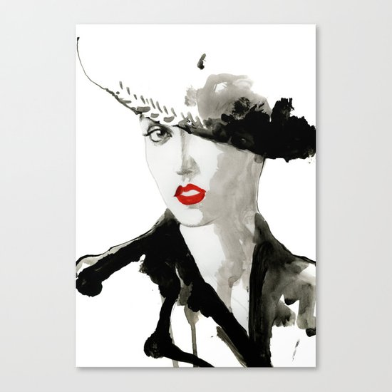 girl jazz 2 Canvas Print