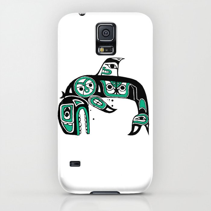 Native American Orca iPhone Case
