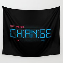 CH:AN:GE Wall Tapestry