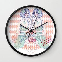 Tea is liquid wisdom Wall Clock