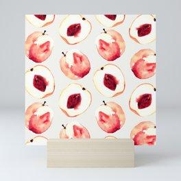 Pink Peach Pattern I Mini Art Print