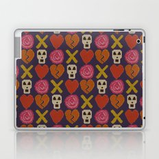 cross stitch cross love Laptop & iPad Skin