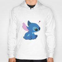 stitch Hoodies featuring Stitch by Stapanda