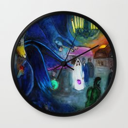 The Wedding by Marc Chagall Wall Clock