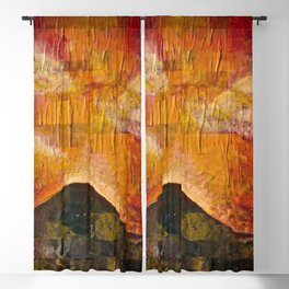 Imaginary Landscapes: Fire in the Sky Blackout Curtain