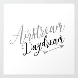 Airstream Daydream Art Print