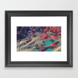 The Cradle Valley Framed Art Print