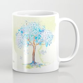 Family blue Coffee Mug
