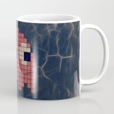 Pac-Man Pink Ghost Mug