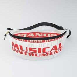 Piano Player Jazz Blues Classical Music Fanny Pack
