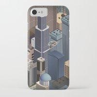 metropolis iPhone & iPod Cases featuring Metropolis by Soak