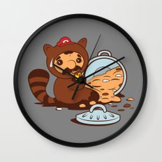 The Tanooki truth Wall Clock