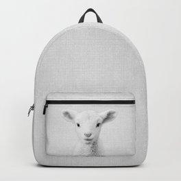 Lamb - Black & White Backpack