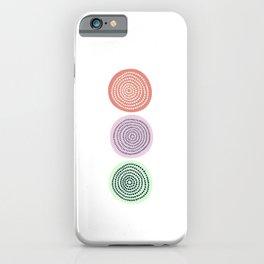Circle Jelly Dark Pink iPhone Case