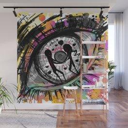 Ocular hysteria Wall Mural