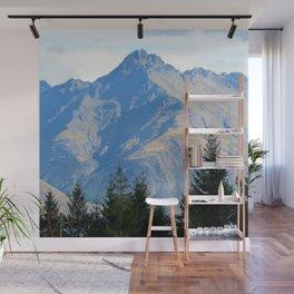 New Zealand Mountain Photo Wall Mural