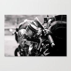 moto Canvas Print